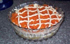 Рецепт приготовления салата «Лисья шубка»