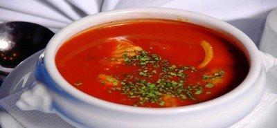Способ приготовления вкусного супа с помидорами