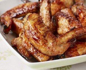 Ингредиенты для приготовления сладких крылышек
