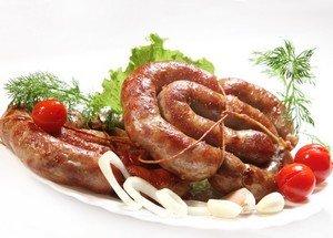 Ингредиенты для приготовления украинской колбасы