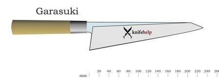 Японский нож Garasuki