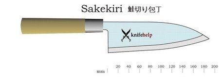 Японский нож Sakekiri