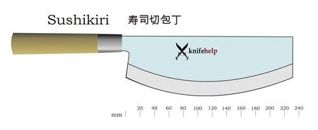 Японский нож Sushikiri
