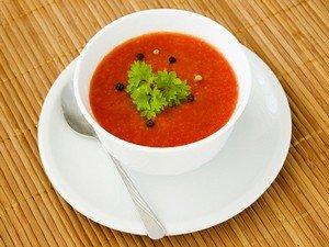 """Рецепт испанского холодного супа """"Гаспачо"""""""