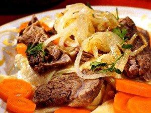 Рецепт приготовления башкирского блюда «Куллама»