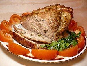 Ингредиенты для приготовления праздничного мяса на Новый 2014 год