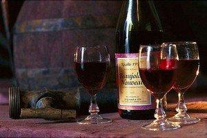 Бутылка Beaujolais nouveau
