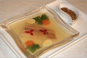 Рецепт приготовления заливного из рыбы