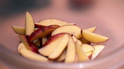 Нарезка овощей дольками