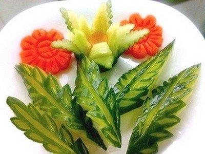 Карбование овощей