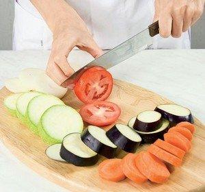 Простая резка овощей