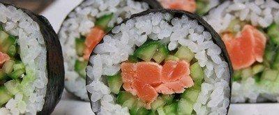 Ингредиенты для приготовления японских ролл