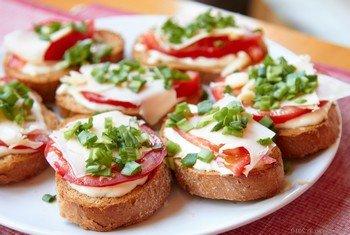 Бутерброды для незваных гостей