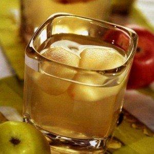 Рецепт компота из яблок