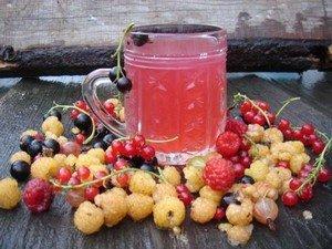 Рецепт компота из ягод