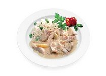 Рецепт приготовления фрикасе из мяса курицы