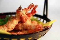 Рецепт приготовления тэмпуры из креветок с овощами