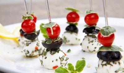 Канапе - миниатюрные бутербродики из Франции