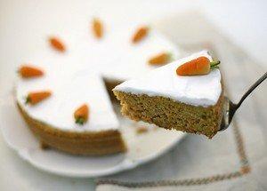Ингредиенты для приготовления морковного торта с воздушным кремом