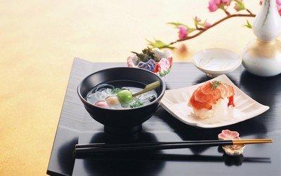 Особенности состава японских блюд