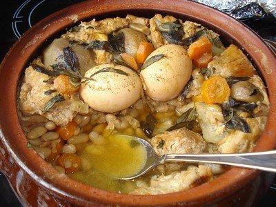 Ингредиенты для приготовления блюда «Чолнт»
