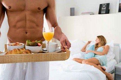 Правильная еда для занятий сексом