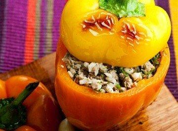 Фаршированный перец с сардинами и рисом - национальное блюдо португальцев