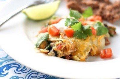 Ингредиенты для приготовления мексиканской лазаньи