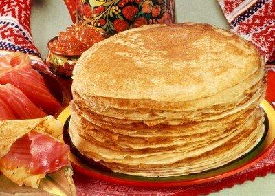 Русские блины - десерт, который нравится как взрослым, так и детям