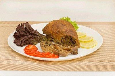 Ингредиенты для приготовления шейки гусиной с начинкой