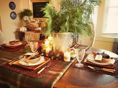 Деревянная посуда будет очень актуальна на новогоднем столе 2015