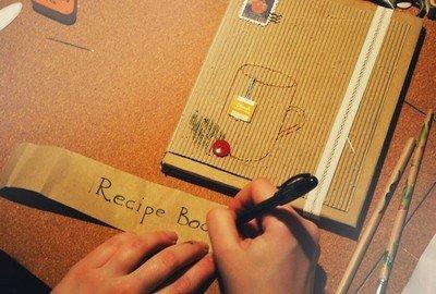 Книга рецептов ручной работы - лучший подарок для женщины