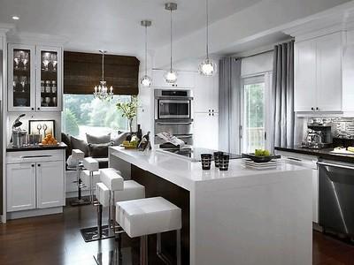 Какие выбрать предметы на современную кухню, чтобы они вписались в дизайн?