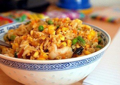 Приготовление риса-карри