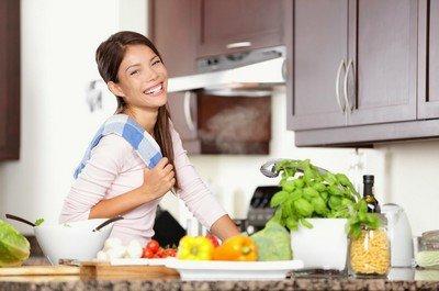 Кухня - царство женщины, где ей должно быть удобно готовить
