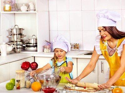 Прививайте культуру полноценного домашнего питания своим детям с раннего возраста