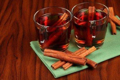 В зимний период лучшая добавка к чаю и кофе - это корица!