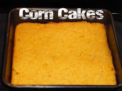 Рецепт приготовления дома кукурузного кекса