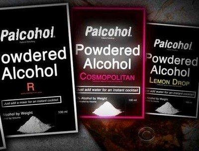 Палкоголь - новый сухой алкоголь