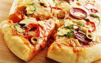 Готовим сердце пиццы – начинку