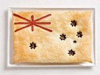 Традиционный австралийский мясной пирог