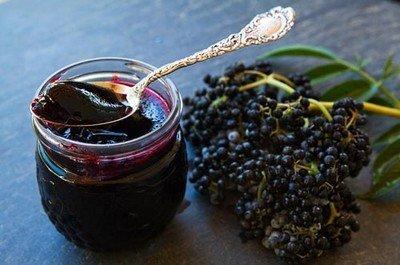 Рецепт приготовления варенья из черной бузины