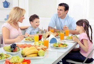Здоровое питание всей семьи