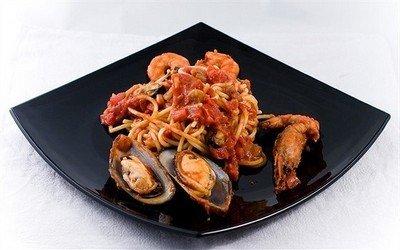 Рецепт вкусного итальянского лингвини маринаре