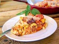 Рецепт макаронной запеканки с тушенкой
