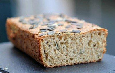 Готовим хлеб с тыквенными семечками