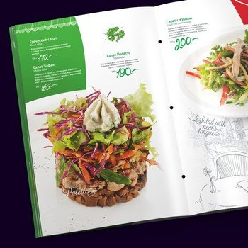 Успешное меню ресторана - залог успеха