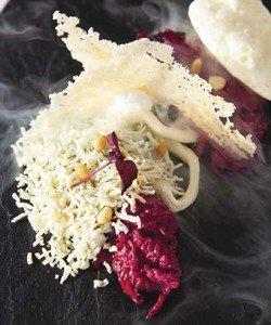 Рецепт пяти состояний сыра со свеклой