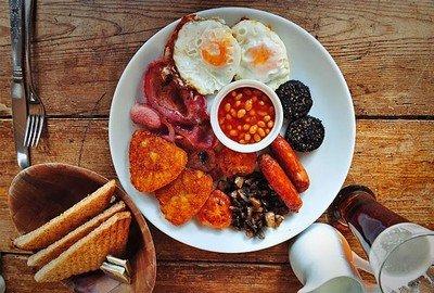 Традиционный ирландский завтрак - визитная карточка Ирландии