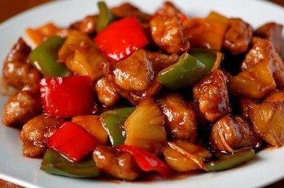 Рецепт приготовления остро-сладкой курицы по-тайски